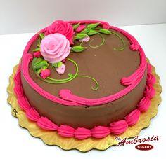 Classic Birthday Cake | The Ambrosia Bakery Cake Designs- Baton Rouge, La |