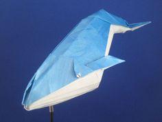 Origami - Blue Whale by Joseph Wu - Kozynak