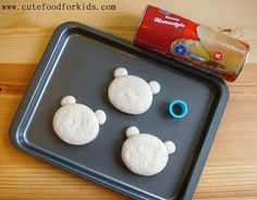 Cute Food For Kids?: Biscuit Animals (Could also use ww Biscuits)