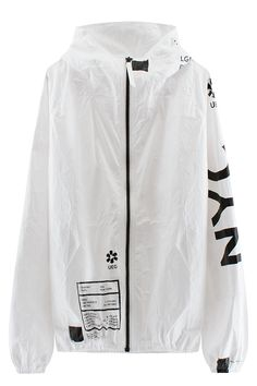 UEG Tyvek NYC Jacket. Now available via VFILES.com for $200 USD. (You can view close-up photos of the details on INSTASTREETWEAR.com) #INSTASTREETWEAR #Streetwear #UEG #VFILES #NYC #Jacket #Fashion