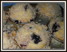 The Best Blueberry Muffins via (Prairie Flower Farm)