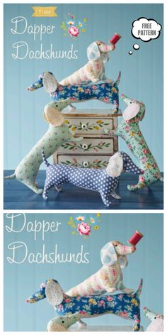Terrific Pictures doll Sewing patterns Tips DIY Fabric Dachshund Dog Toy Free Sewing Patterns & Tutorials Doll Patterns Free, Animal Sewing Patterns, Sewing Patterns For Kids, Fabric Toys Diy, Fabric Crafts, Sewing Stuffed Animals, Stuffed Animal Patterns, Plush Pattern, Fabric Doll Pattern