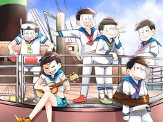 Osomatsu-San (can I just point out that Oso is enacting Titanic)