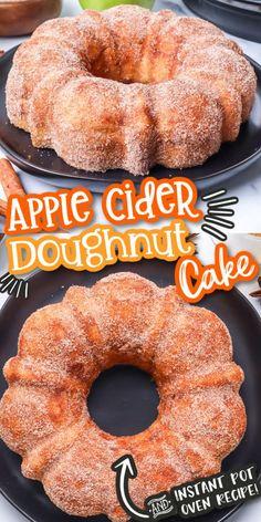 Mini Desserts, Fall Desserts, Delicious Desserts, Dessert Recipes, Yummy Food, Thanksgiving Desserts, Halloween Desserts, Halloween Cakes, Apple Desserts