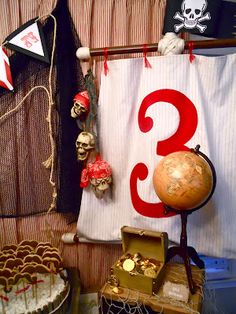 pirate party by Oh, Sugar! Events