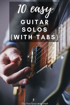 electric guitar songs for beginners Music Theory Guitar, Easy Guitar Songs, Guitar Chords For Songs, Guitar Solo, Music Guitar, Playing Guitar, Acoustic Guitar Lessons, Guitar Chord Chart, Guitar Notes