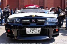 Police Car #NISSAN #GTR