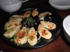 cheesy baked tahong