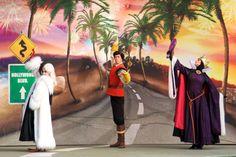 The Queen, Gaston and Cruella de Vil, Disneyland Paris