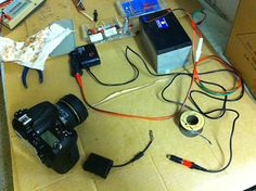 Custom battery set-up for day-length time lapse photography - Hyperfocal Design
