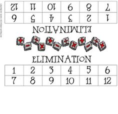 Guided Math: Math Game- Elimination