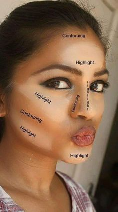 Don't cut the carbs!  The right contouring can make you look up to ten pounds thinner.  Work those cheekbones!