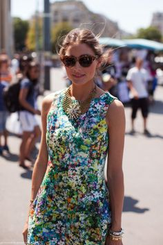 OP floral - I'm in love with this dress.
