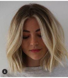 Love Hair, Great Hair, Hairstyles With Bangs, Pretty Hairstyles, Medium Hair Styles, Short Hair Styles, Brown Blonde Hair, Hair Color And Cut, Grunge Hair