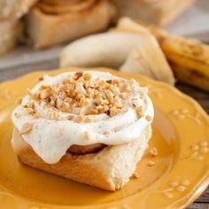 Banana Bread Cinnamon Rolls - it's name speaks for itself.