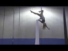 Goodbye - Jessica Johnson Aerial Silks & Aerial Cube Act - YouTube