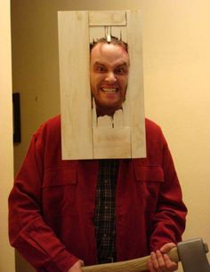 The Shining Here's Johnny Costume Clever