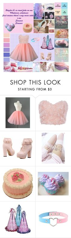 """Melanie Martinez Pity Party"" by silentdoll ❤ liked on Polyvore featuring Seed Design"