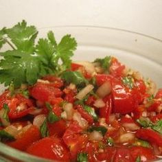 Easy Chunky Tomato Salsa recipe – All recipes Australia NZ Hot Salsa, Spicy Salsa, Vegetable Dishes, Vegetable Recipes, Ww Recipes, Cooking Recipes, Family Recipes, Healthy Cooking, Healthy Snacks