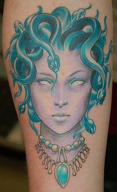 Medusa Design Pin Up By Frosttattoo On Deviantart Flash