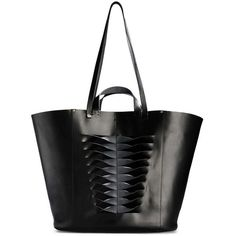 Jerome Dreyfuss Black Norbert Tote ($444) ❤ liked on Polyvore