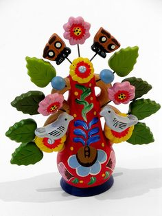 Little Peruvian Ceramic - Tree of Life