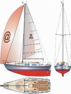 Puffin - 8,5 m jacht do turystyki morskiej - 1