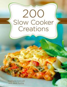 200-Slow-Cooker-Creations-Crock-Pot-Recipes-Hardcover-Spiral-Bound-Cookbook-New