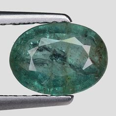 Other Emeralds 164398: 1.46Cts Green Oval Emerald Natural Loose Gemstone See Video -> BUY IT NOW ONLY: $109.5 on eBay!