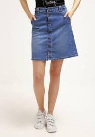 OBJLOU - A-linjainen hame - medium blue denim @ Zalando. Jean Skirt, Denim Skirt, Jeans, Blue Denim, Summer Outfits, Spring Summer, Medium, Skirts, Image
