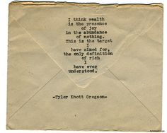 Typewriter Series #1595 by Tyler Knott Gregson Chasers of the Light & All The Words Are Yours are Out Now!