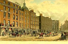 Cheapside  from Ackermanns Repository  (June 1813) Regency History: Regency period London in Pride and Prejudice
