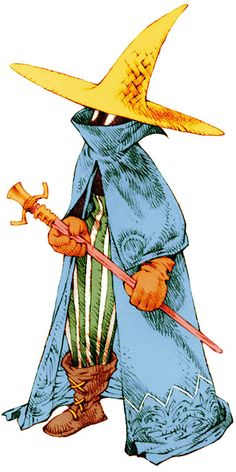 Final Fantasy Tactics BlackMage ✤ || CHARACTER DESIGN REFERENCES