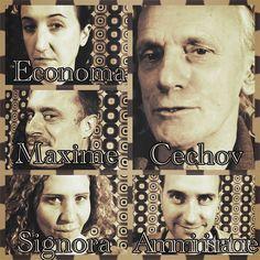 UN NOME EQUINO - Anton Cechov Giornata Mondiale del Teatro sabato 14 marzo 2015 Cine Teatro Edelweiss, Besana in Brianza