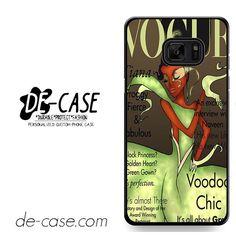 Tiana Disney Vogue Magazine DEAL-11218 Samsung Phonecase Cover For Samsung Galaxy Note 7
