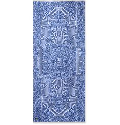 <a href='http://www.mrporter.com/mens/designers/john_elliott'>John Elliott</a>'s 'Moroccan' beach towel is a sophisticated upgrade from your standard solid-coloured options. It has been made in Japan from thick cotton-terry in a Moroccan tile-inspired pattern. The considerable size makes it great for tall gents.