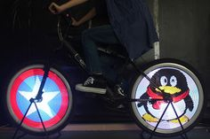 Bicycle wheel light - 社群 - Google+
