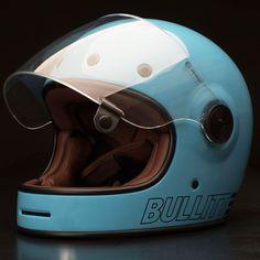 Bullitt Helmet by Bell - Retro Blue