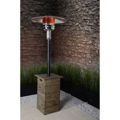 Bond Galleon Gas Patio Heater, Stainless Steel - Walmart.com, $263.77 ea., Qty. 2