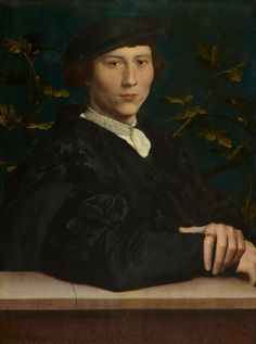 Hans Holbein the Younger, Derich Born (1510?-49), 1533 on ArtStack #hans-holbein-the-younger #art