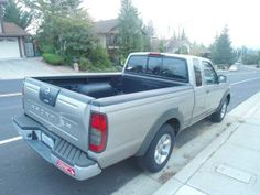 Used 2002 Nissan Frontier for Sale ($7,450) at Castro Valley, CA