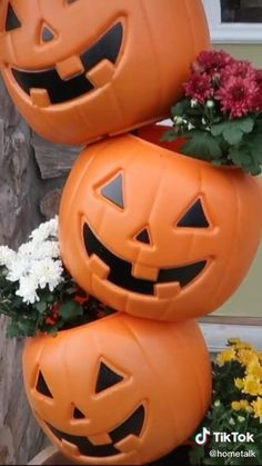 Easy Halloween Decorations, Halloween Home Decor, Holidays Halloween, Fall Halloween, Halloween Crafts, Holiday Crafts, Thanksgiving Decorations, Happy Halloween, Healthy Halloween