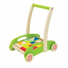 Hape E0371 Block and Roll Toddler Toy: Amazon.co.uk: Toys & Games