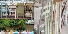 Diferentes estilos de sillas para tu boda, ¡lo último!