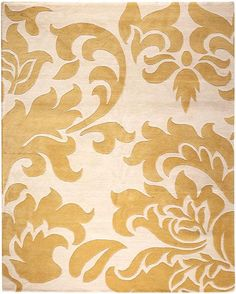 Martha Stewart Living™ Grand Damask Area Rug: $423 8x10