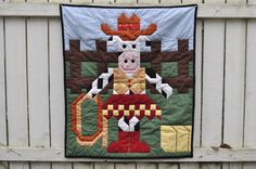 Cowgirl Quilt Pattern in multiple sizes  PDF by CountedQuilts, $9.00