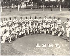 1955 Brooklyn #Dodgers spring training in our hometown of Vero Beach. #baseball