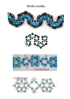 Beaded jewellry – Some more simple beaded patterns (Part III) | Beaded jewelry