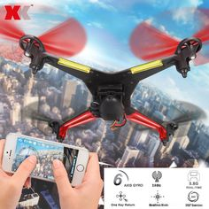 The professional #XKAlienX250B wifi FPV RC #quadcopter features innovative flight technology and is a machine you can fly just about anywhere, with a performance edge that makes your flight experience more fun than you could imagine.