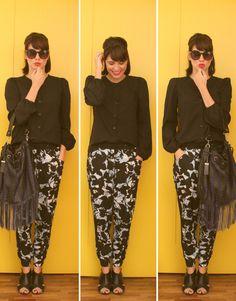 Gorgeous Joana Moura from Um Ano sem Zara blog! She's so stylish !